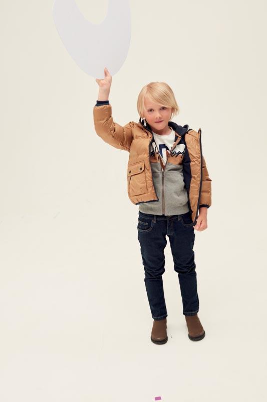Детско зимно яке с качулка iDO 41793